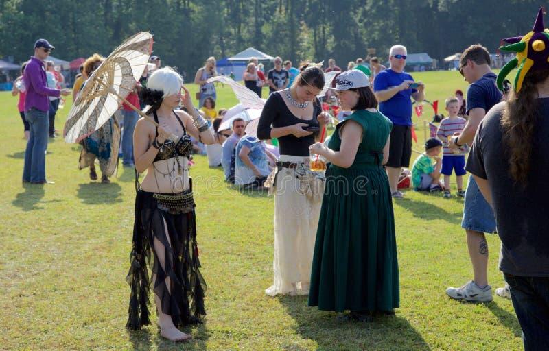 Guinchos no renascimento inaugural Faire do Meados de-sul fotografia de stock royalty free