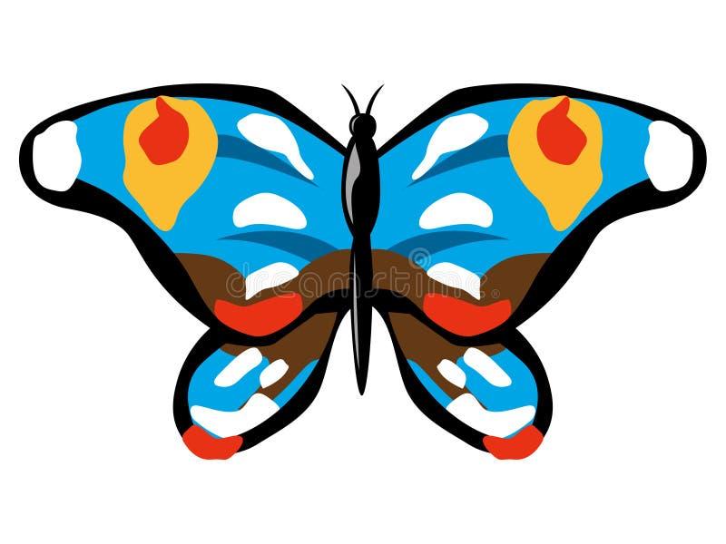 Guindineau bleu illustration de vecteur