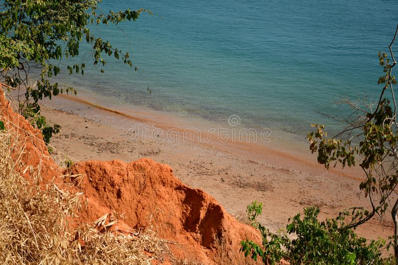 Guinea Bissau, Bubaque Island. Beautiful islands in the Bijagos Archipelago, warm sandy sunny beaches, warm water, wonderful nature, a perfect place to rest on royalty free stock photography