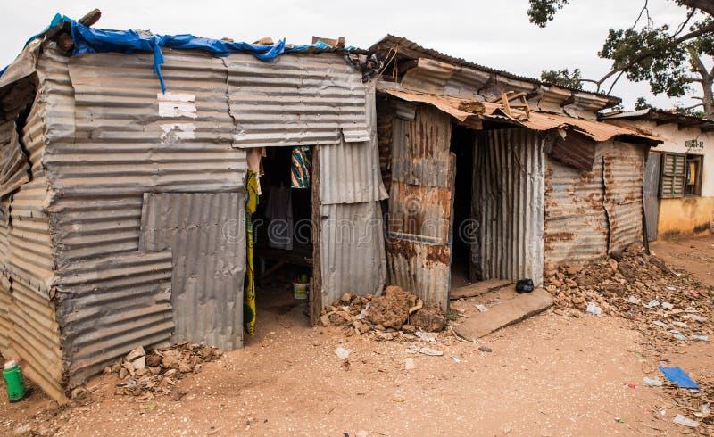 Guinea-Bissau van West-Afrika - Bijagos-eilanden Bubaque royalty-vrije stock fotografie