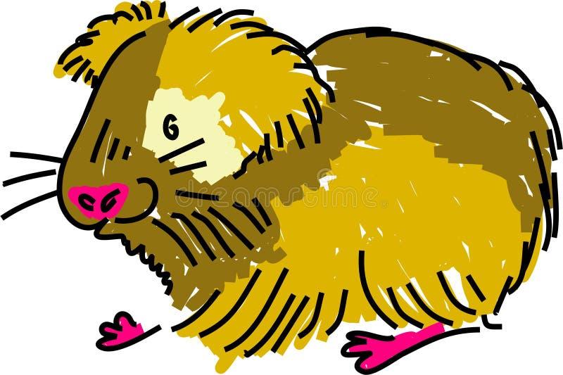 Download Guinea pig stock illustration. Image of guinea, clip, animal - 1924403