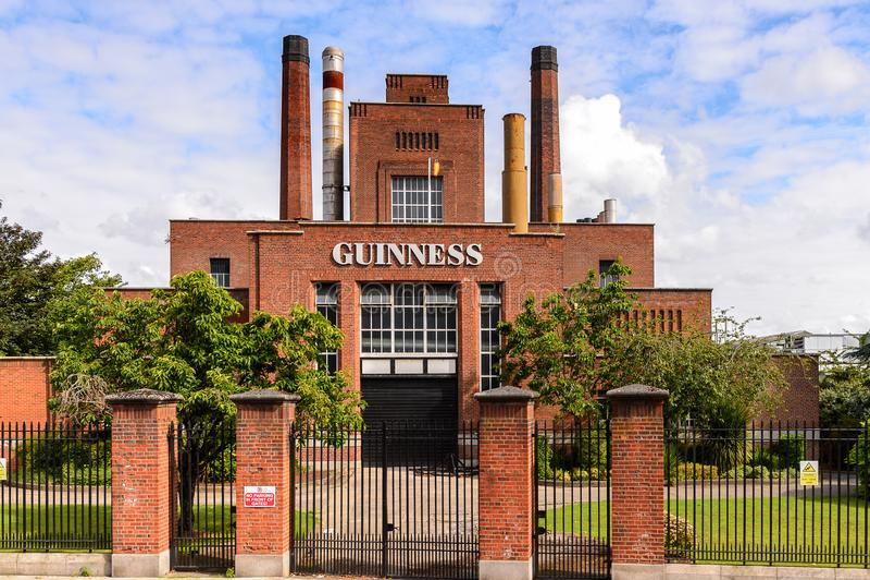 Guiness-Brouwerij royalty-vrije stock afbeeldingen