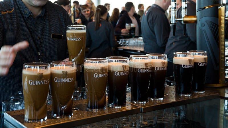Guiness-Brouwerij Dublin Ireland stock afbeeldingen