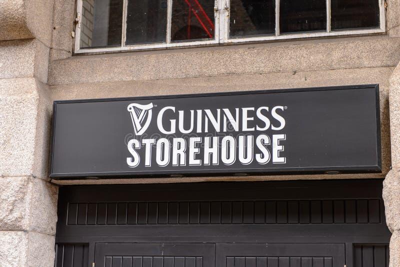 Guiness-Brouwerij, Ierland stock foto