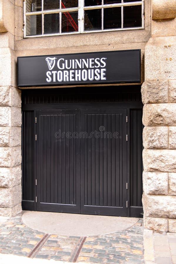 Guiness-Brouwerij, Ierland royalty-vrije stock afbeelding