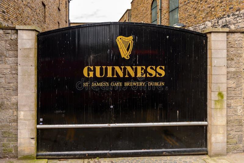 Guiness-Brouwerij, Ierland royalty-vrije stock foto's