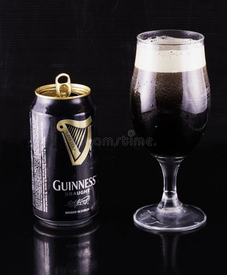 Guiness-het bier kan royalty-vrije stock afbeeldingen