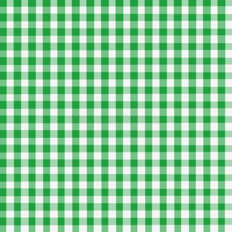 Guingan vert illustration stock