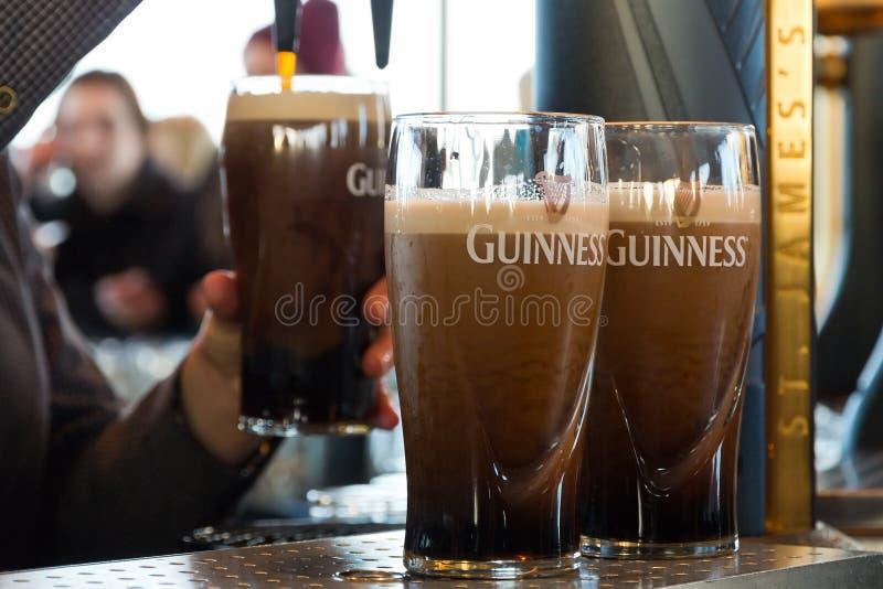 Guinness imágenes de archivo libres de regalías