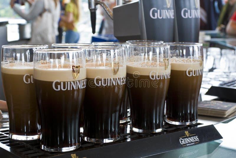 Guinness-Bier stockbild