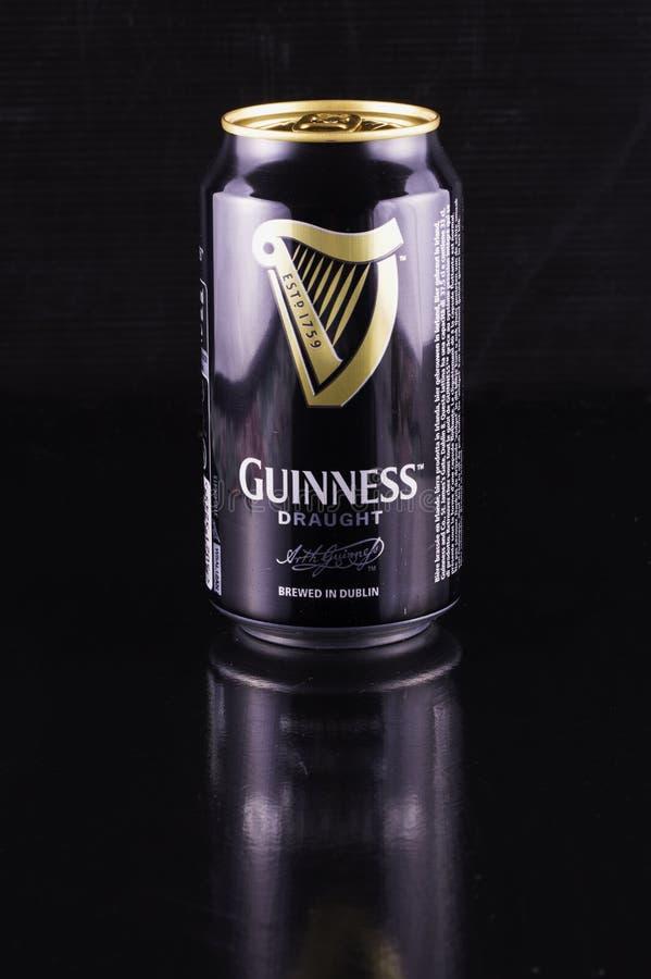Guinness-Bierdose stockbilder