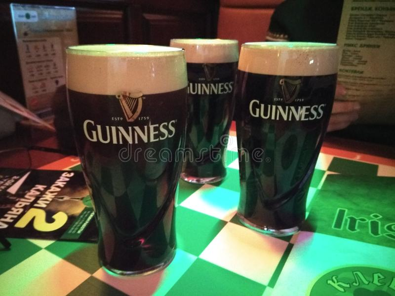 Guinness royalty free stock photo