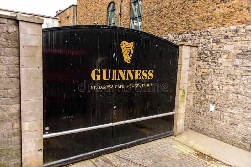 Guinness-Brauerei, Irland lizenzfreie stockfotografie
