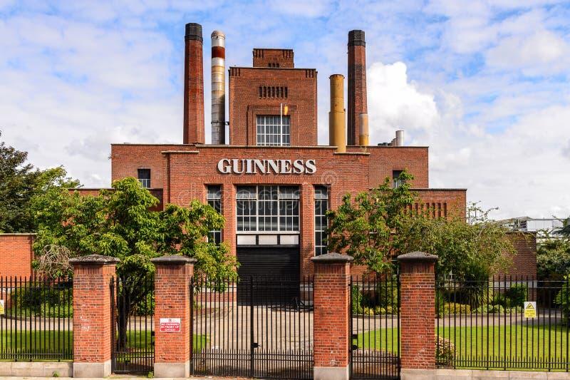 Guinness bryggeri royaltyfria bilder