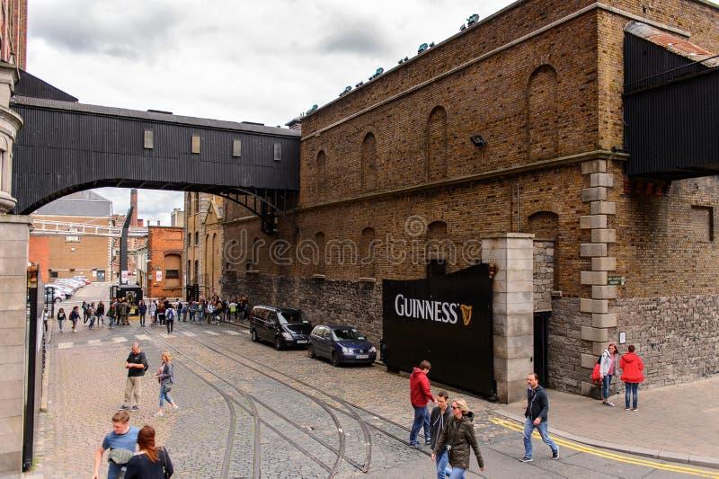 Guinness bryggeri, Irland royaltyfri bild