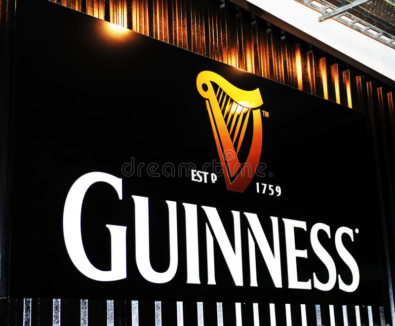 Guinness magasin arkivfoton