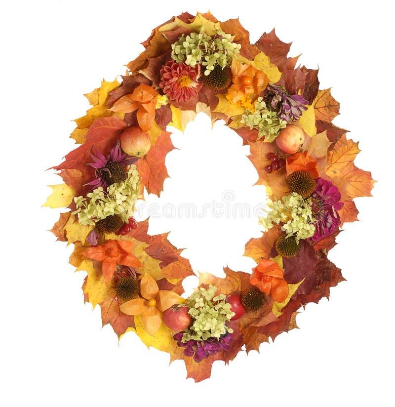 Guirlande d'automne photos libres de droits
