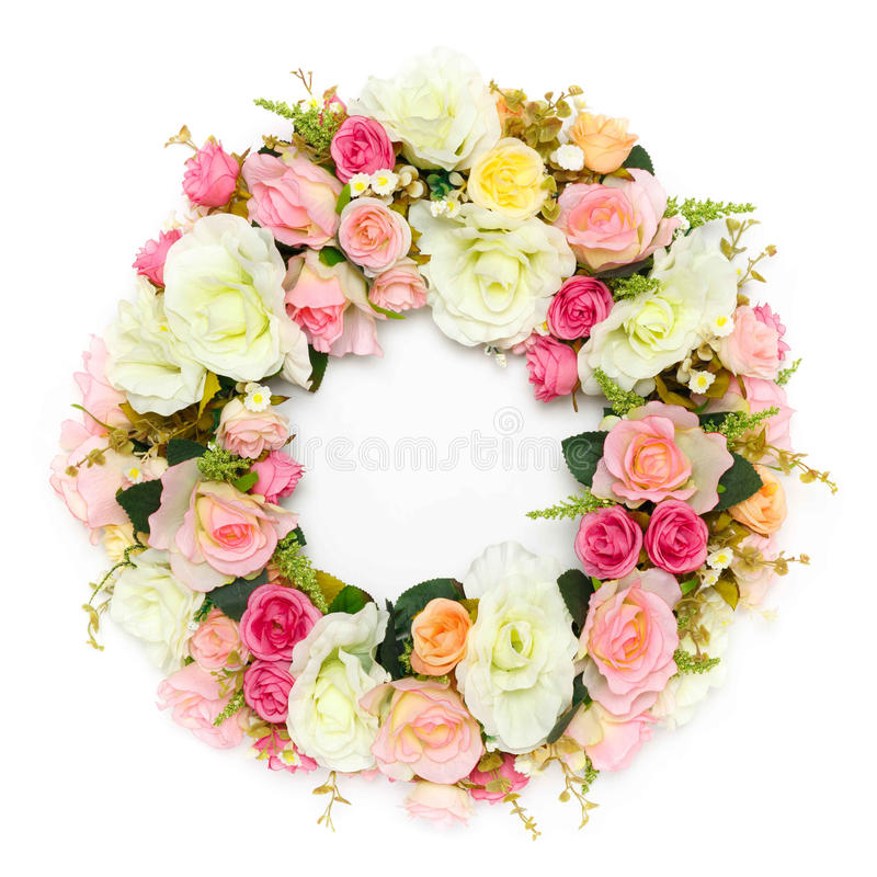Guirlande de fleur photo stock