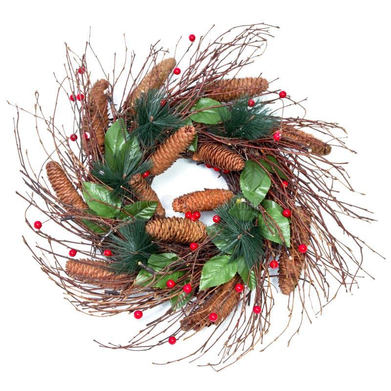 Guirlande de Noël photographie stock