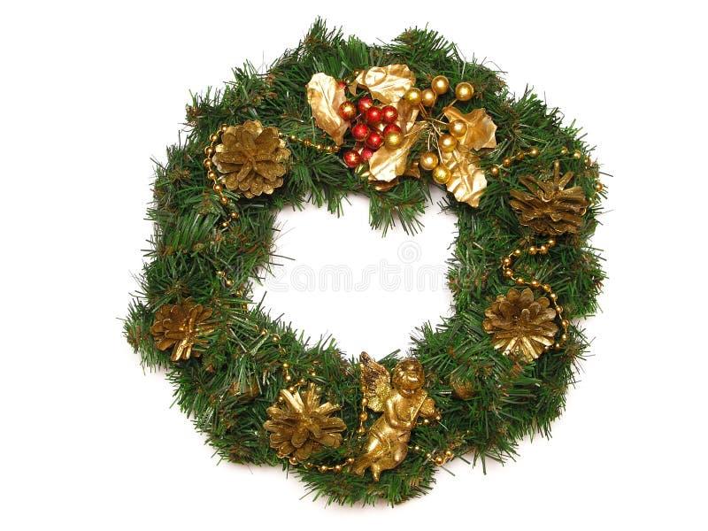 Guirlande de Noël image stock