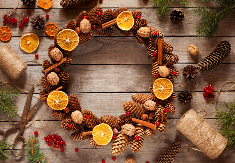 guirlande noel orange cannelle