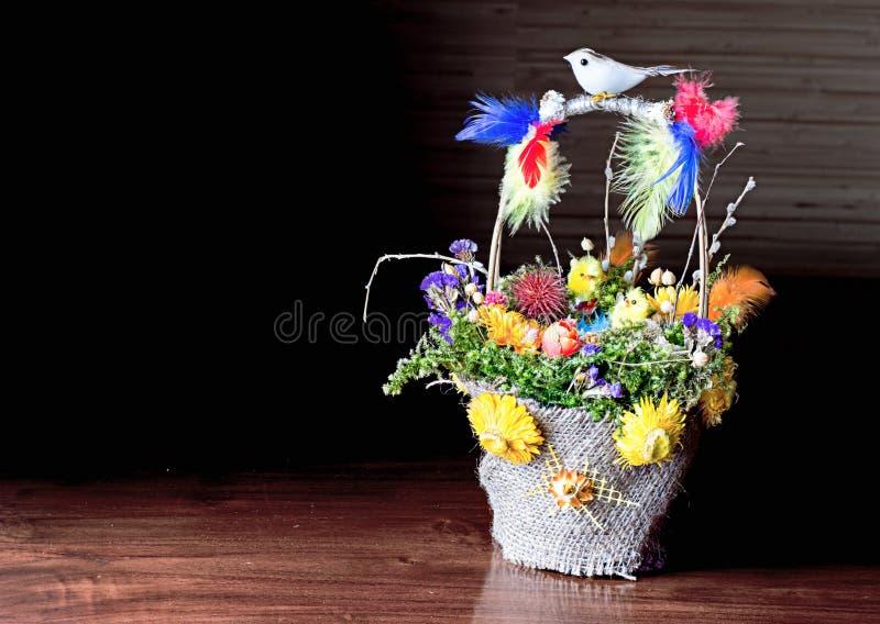 Guirlande de Pâques images libres de droits