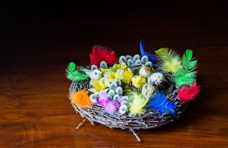 Guirlande de Pâques photo libre de droits