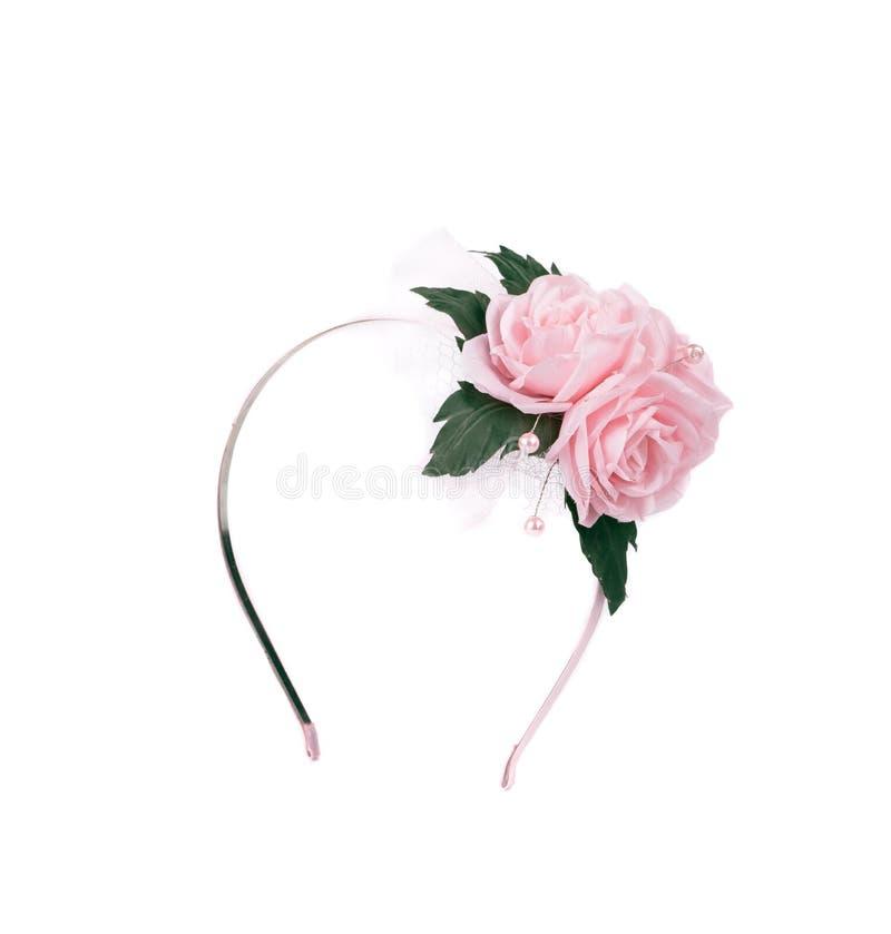 Guirlande de tir de studio des fleurs images stock