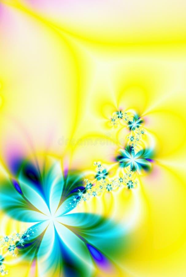 Guirlande des fleurs illustration stock