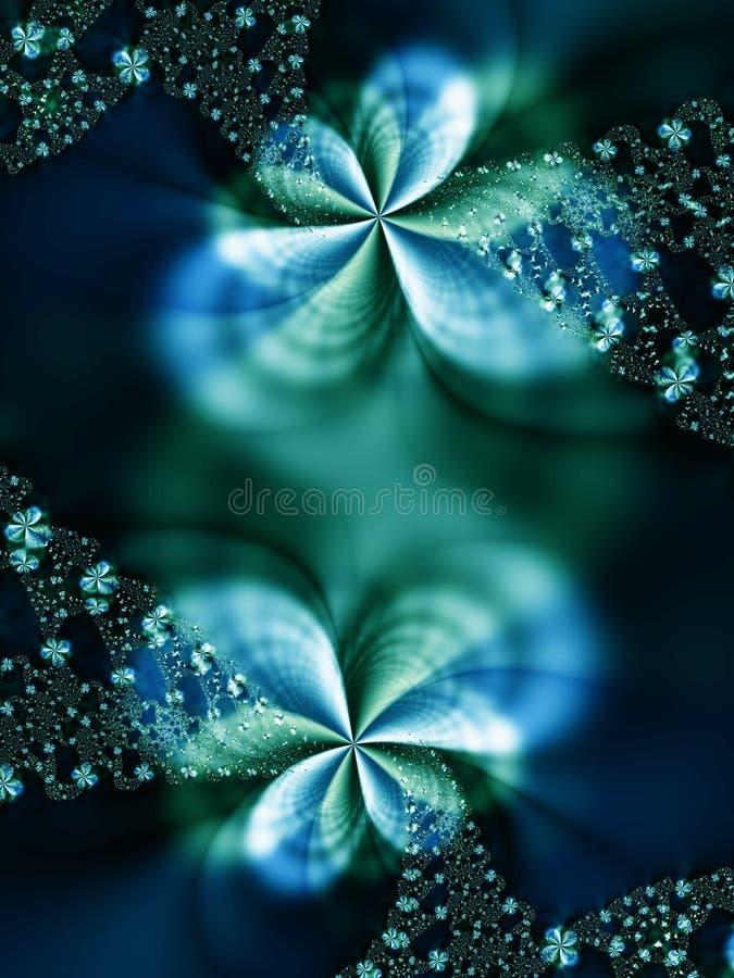 Guirlande des fleurs illustration libre de droits