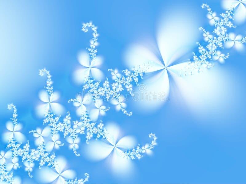Guirlande des fleurs illustration de vecteur