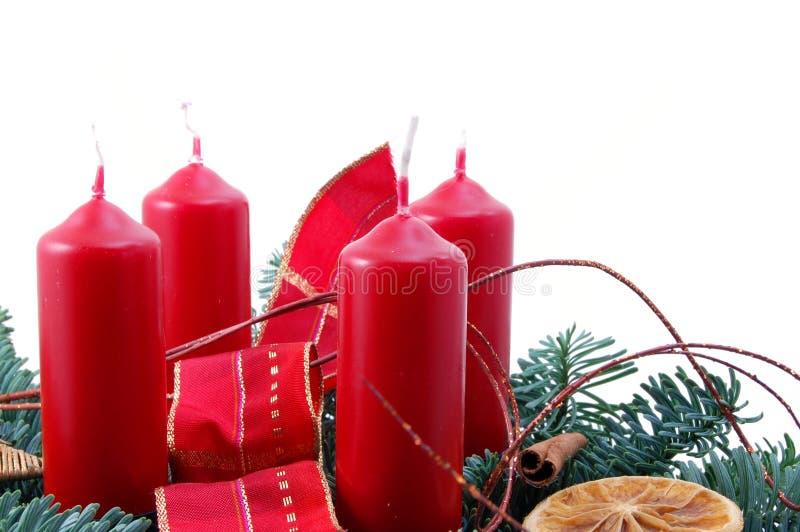 Download Guirnalda de la Navidad foto de archivo. Imagen de tarjeta - 7275560