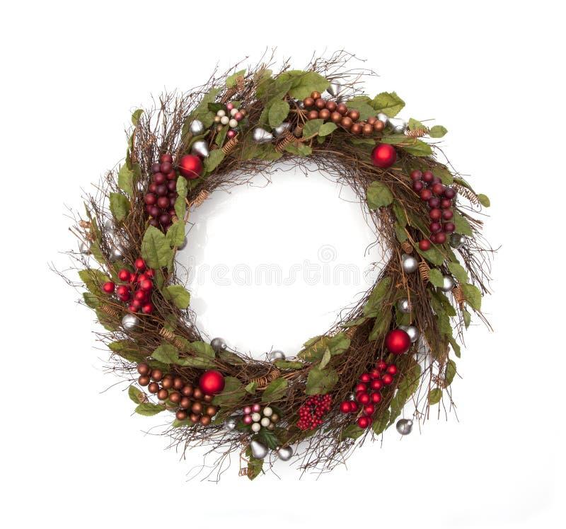 Guirnalda de la Navidad del día de fiesta imágenes de archivo libres de regalías