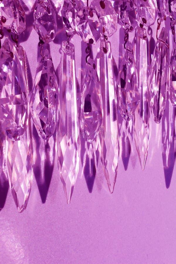 Guirnalda de la prisma de la lámpara imagen de archivo libre de regalías