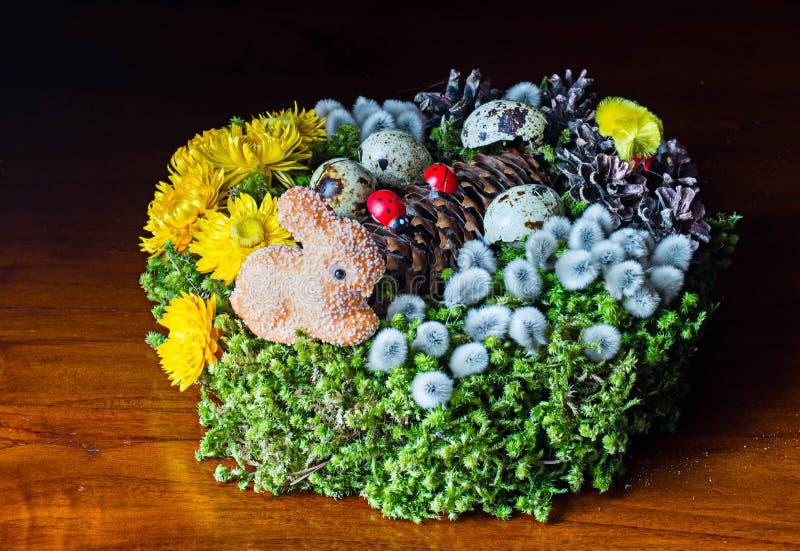 Guirnalda de Pascua imagen de archivo libre de regalías