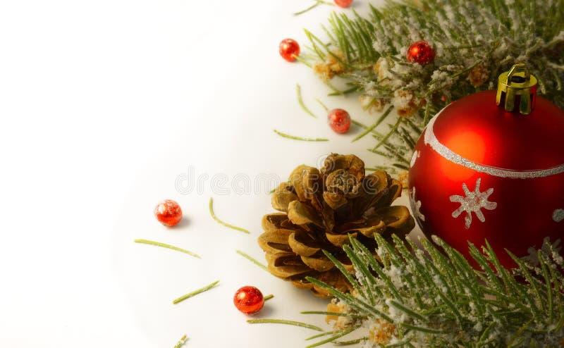 Guirnalda del árbol de navidad foto de archivo libre de regalías