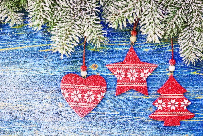 Guirnalda del árbol de navidad imágenes de archivo libres de regalías