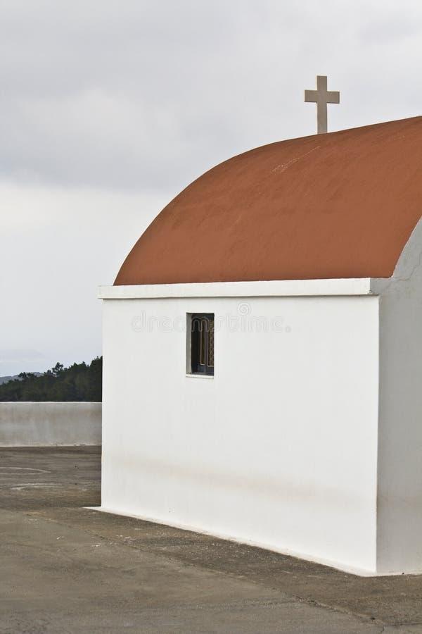 Guirnalda ortodoxa tradicional griega en Rodas imagen de archivo