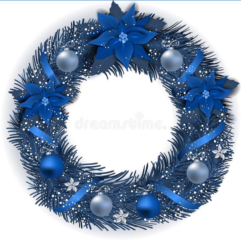 Guirnalda tradicional de la Navidad libre illustration
