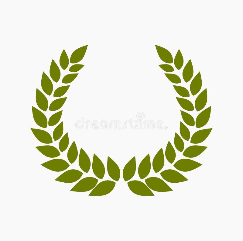 Guirnalda verde del laurel libre illustration