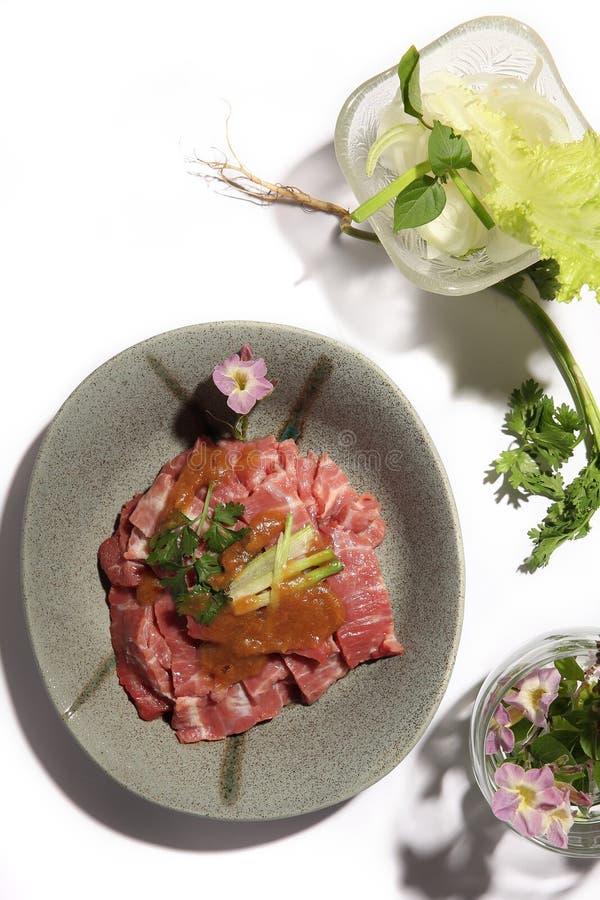 Guisado de carne com tamarindo imagens de stock royalty free
