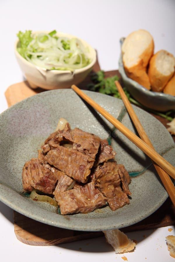 Guisado de carne com tamarindo imagens de stock