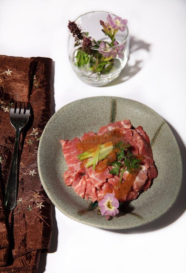Guisado de carne com tamarindo imagem de stock