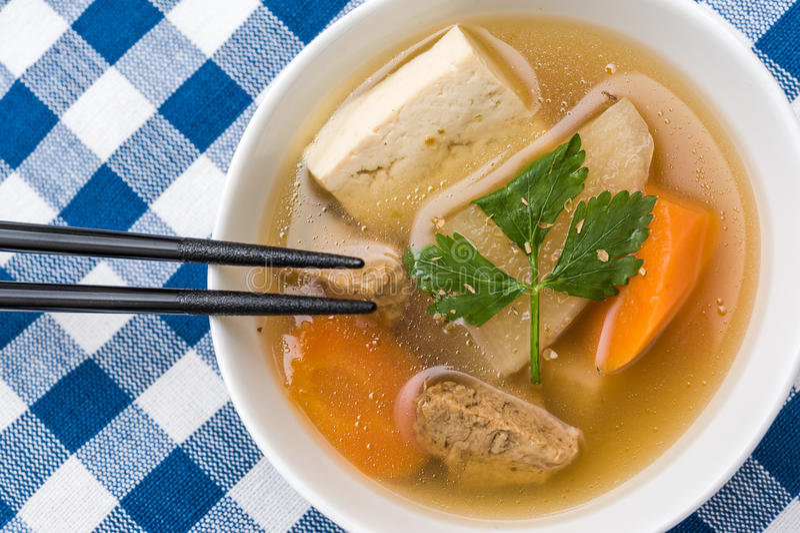 Guisado vegetariano oriental foto de archivo