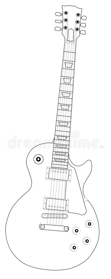 Guitar 02 royalty free stock photography