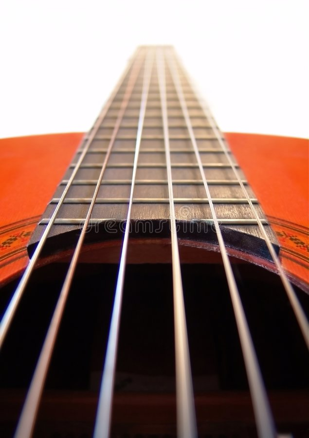 Download Guitar stock image. Image of abstract, strings, classical - 8451