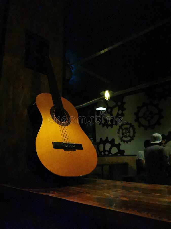 Guitar royalty-vrije stock foto