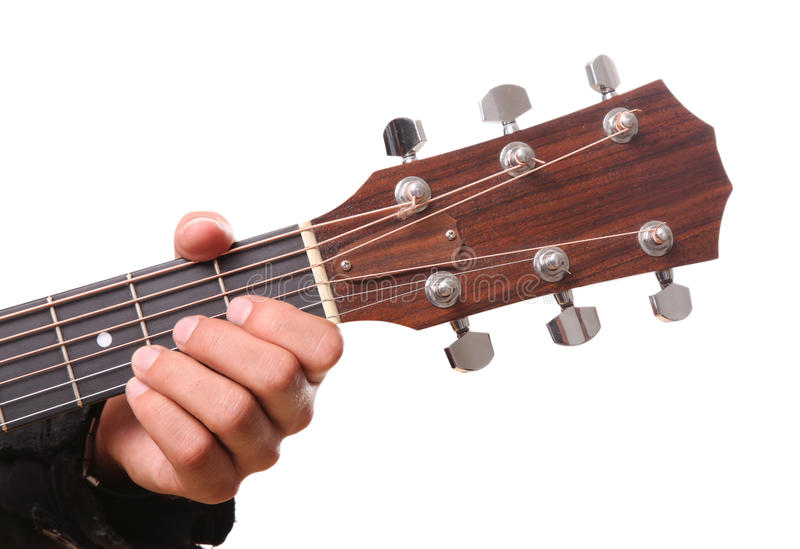 Download Guitar stock photo. Image of color, frets, musician, classic - 18330180
