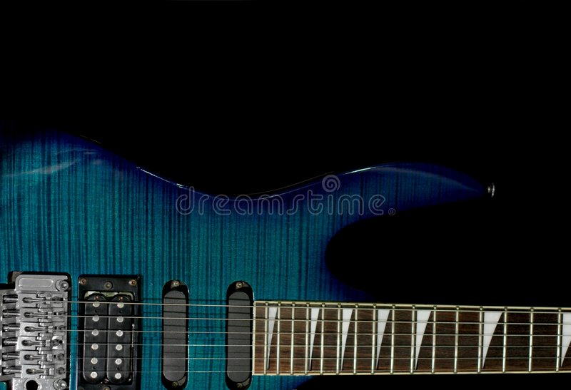 Download Guitar stock image. Image of fretboard, guitar, black - 1912899