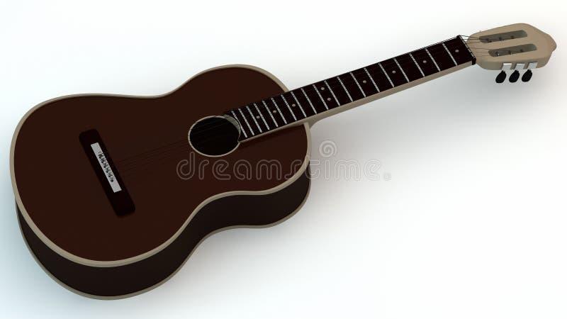 Download Guitar stock illustration. Image of white, chords, instrument - 22714927